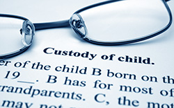 Custody paperwork for family lawyer in Kincardine